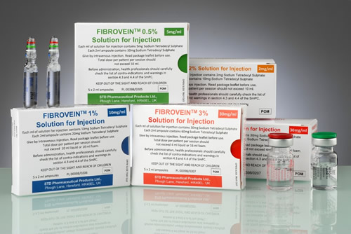 Fibrovein packages